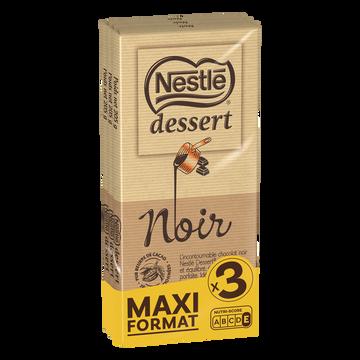 Nestlé Chocolat Noir Nestle Dessert, X3 Soit 205g