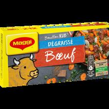 Maggi Bouillon De Boeuf Dégraissé , X12 Tablettes Soit 120g