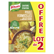 Grand' Mère Secret Grand Mère Poule Vermicelle Petits Légumes Knorr Brique 2x1l