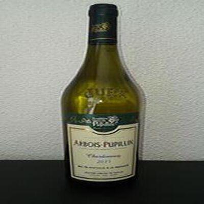 Vin blanc du Jura Arbois Pupillin AOC Chardonnay Fruitière vinicole de Pupillin 75cl