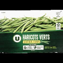 Haricots verts extra fins U, 450g