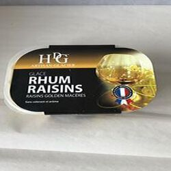 Glace Rhum Raisins GINEYS