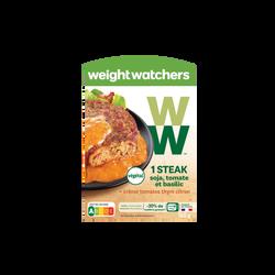 Steack de soja tomate et basilic WEIGHT WATCHERS, 150g