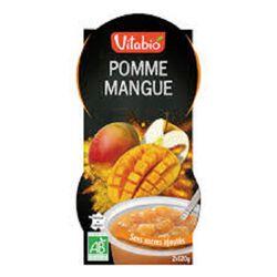 Dessert Pomme Mangue X2 coupelles Bio Vitabio 2X120g