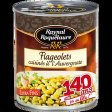 Flageolets cuisinés à l'Auvergnate RAYNAL ET ROQUELAURE, 820g
