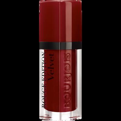 Rouge à lèvres édition velvet 19 jolie-de-vin BOURJOIS
