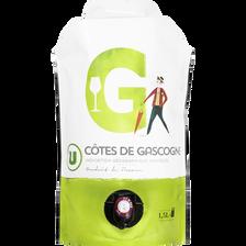 IGP blanc côtes de gascogne U,1,5l