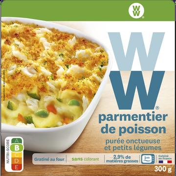 WeightWatchers Parmentier De Poisson, Purée Et Petits Légumes Weight Watchers, 300g