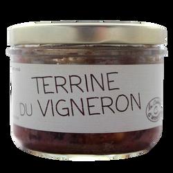 Terrine du vigneron LA CUISINE D'ANNETTE, 200g