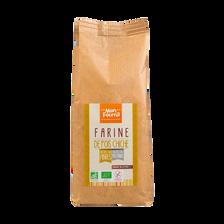 Farine de pois chiche bio sans gluten MONFOURNIL, 500g