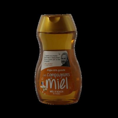 Miel d'acacia COMPAGNONS DU MIEL, squeezer 250g