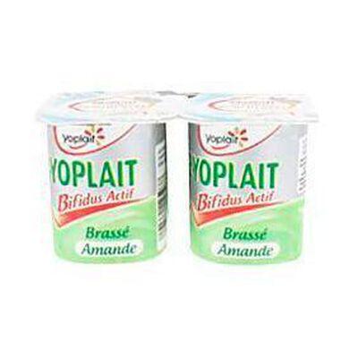 Yaourt brassé amande B de  YOPLAIT, 4x125g