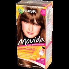 Coloration crème ton sur ton MOVIDA, blond foncé n°15