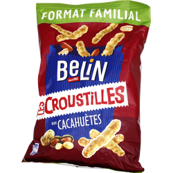 Croustilles aux cacahuète BELIN, 138g