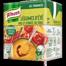 Soupe légumes d'été barbecue et pointe de chili KNORR, 30cl