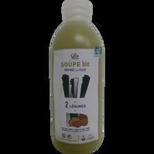 Soupe 2 légumes, BIO, 1 litre