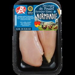 Filet poulet fermier de Normandie, France, 2 pièces