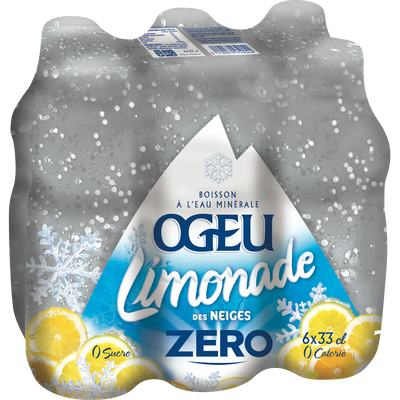 Limonade des Neiges light OGEU, 33cl