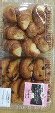 10 croissants +10 pains chocolat BEURRE