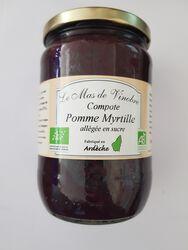 COMPOTES POMME/MYRTILLE