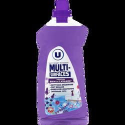 Nettoyant ménager multi-surfaces parfum brin de lavande U, flacon 1,25l