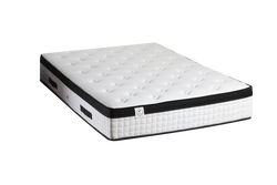 Matelas hotel lodge 2 plateaux piques sur ouate 100% polyesterthermolie coutil stretch 100% polyester 160x220cm-ame 792 ressorts