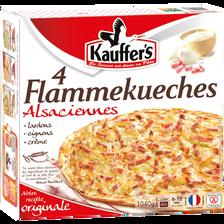 Kauffer's Tarte Flambée Traditionnelle , X4 Soit 1,04kg