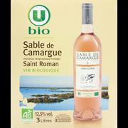 Sable de Camargue Vin Rosé Igp Sable De Camargue Gris Saint Roman U Bio, Fontaine À Vinde 3l