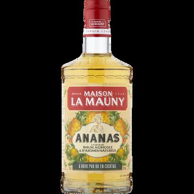 Rhum arrangé MAISON LA MAUNY ananas, bouteille de 70cl
