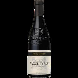 Vin rouge AOP Vacqueyras réserve ANDEOL SALAVERT, 75cl