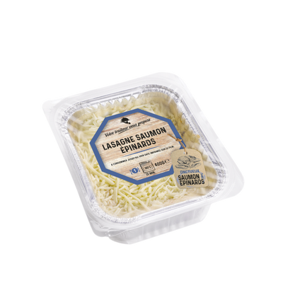 Lasagne saumon épinards, 400g