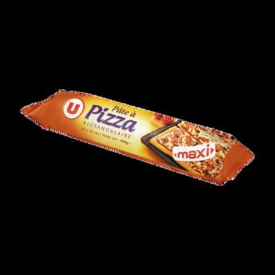 Maxi pâte à pizza rectangulaire U, 500g