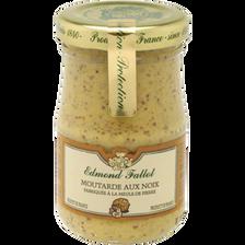 Moutarde aux noix EDMOND FALLOT, bocal 10cl 105g