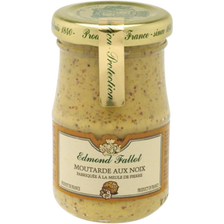 Fallot Moutarde Aux Noix Edmond , Bocal 10cl 105g