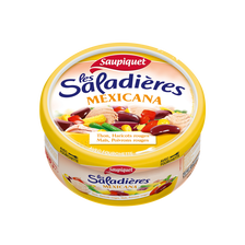 Saladière snacking Mexicana SAUPIQUET, 1/3, 220g