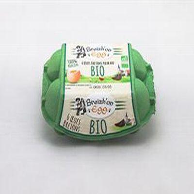6 oeufs bretons plein air bio Breizh'on egg