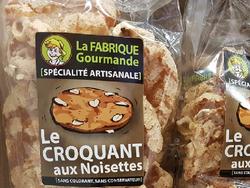 Le croquant aux Noisettes LA FABRIQUE GOURMANDE sachet de 100g