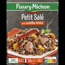 Petit salé aux lentilles vertes du Puy FLEURY MICHON, 350g