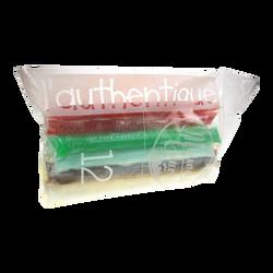 Tubes de glace à l'eau parfums assortis L'Authentique ALFAGEL, x12