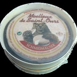 Moelleux de Saint Ours petit modèle au lait cru boite chaude SCHMIDAUSER, 27% de MG, 250g