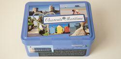 Boite sucrette charente maritime 120 g galettes charentaise