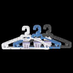 Cintres économiques avec crans anti glisse U MAISON, en plastique, 5 unités