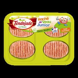 Haché de veau Junior, TENDRIADE, 4 pièces, 200g