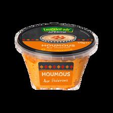 Houmous aux poivrons, barquette 175g
