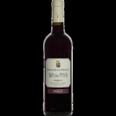 Vin rouge IGP Val de Loire Merlot domaine de La Grange, bouteille de 75cl