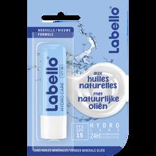 Stick pour les lèvres huiles naturelles hydro care  LABELL O, 4,8g