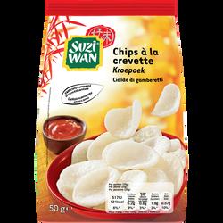 Chips aux crevettes SUZI WAN, 50g