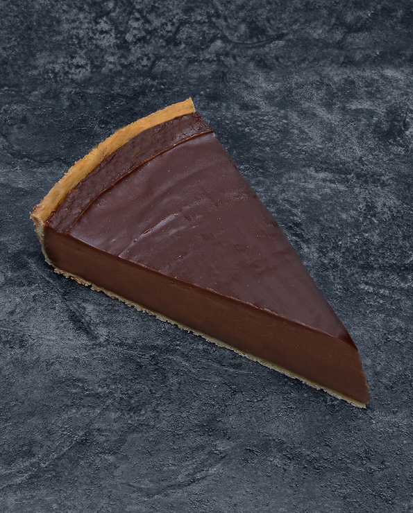 Flan chocolat vanille, U, décongelé, 10 parts, 1,9kg