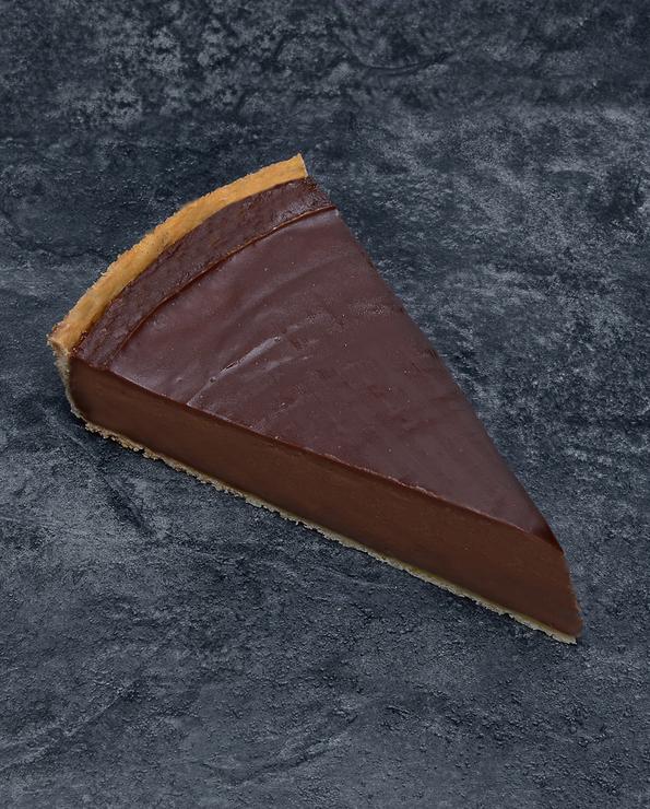 Flan chocolat, U , décongelé, 2 parts, 380g