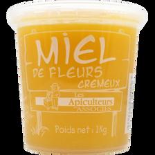 Miel de fleurs crémeux LES APICULTEURS ASSOCIES, 1kg
